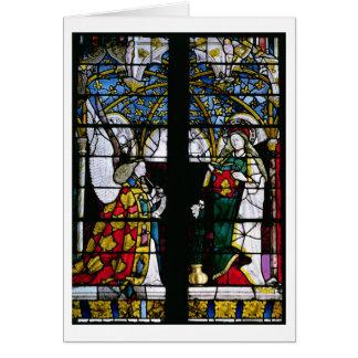 Cartes L'annonce, de la chapelle de Jacques Coeur