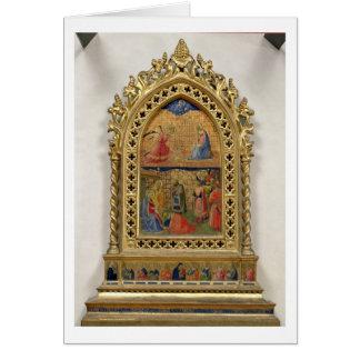 Cartes L'annonce et l'adoration des Magi (te