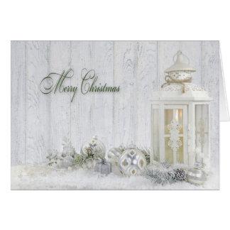Cartes Lanterne de Noël