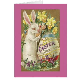 Cartes Lapin de Pâques vintage