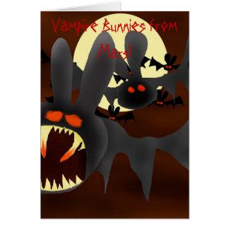 Cartes Lapins de vampire de Mars