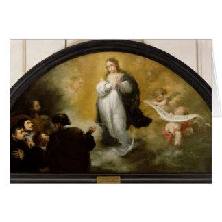 Cartes L'apparition de la Vierge, 1665