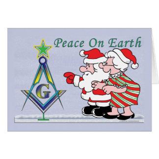 Cartes L'arbre de Père Noël