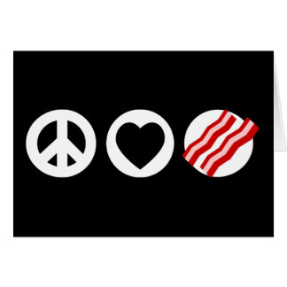 Cartes Lard d'amour de paix