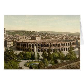 Cartes L'arène, Vérone, Italie