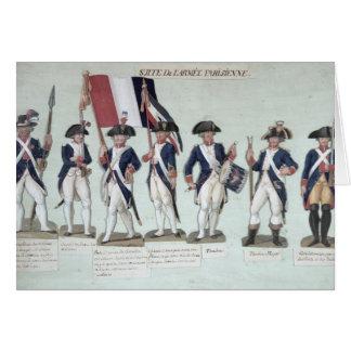 Cartes L'armée parisienne pendant le Français