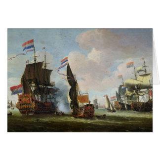 Cartes L'arrivée Michiel Adriaanszoon Ruyter