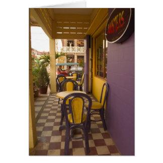Cartes L'Asie, Cambodge, Siem Reap, café-restaurant