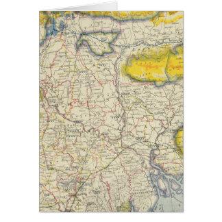 Cartes L'Asie du sud, Inde, Bangladesh
