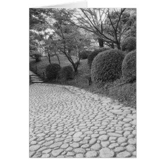Cartes L'Asie, Japon, Hiroshima. Shukkei, jardin d'en