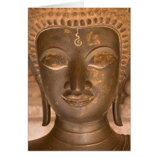 Cartes L'Asie, les Laotiens, Vientiane, sculpture en