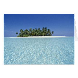 Cartes L'ASIE, Maldives, atoll d'Ari, inhabité