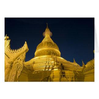 Cartes L'Asie, Maynmar, Yangon, temple bouddhiste à