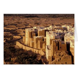 Cartes L'Asie, Moyen-Orient, République du Yémen, Shibam