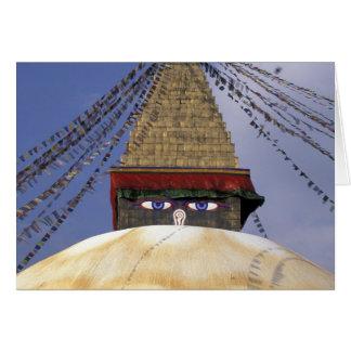 Cartes L'Asie, Népal, Katmandou. Bouddhanath Stupa. 2