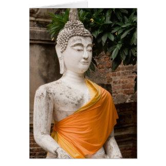 Cartes L'Asie, Thaïlande, Siam, Bouddha à Ayutthaya
