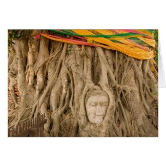 Cartes L'Asie, Thaïlande, Siam, Bouddha dans des ornières