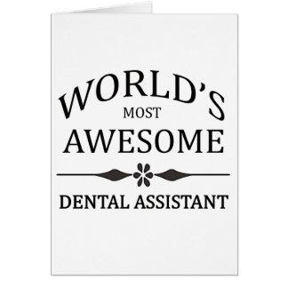 Cartes L'assistant dentaire le plus impressionnant du