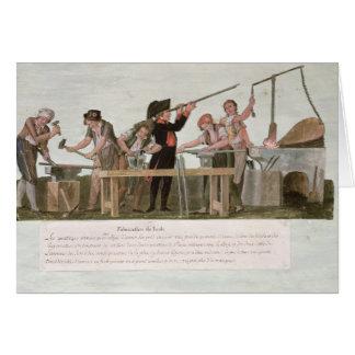 Cartes L'atelier des fabricants de fusil, 1793