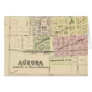 Cartes L'aurore, Phillips, Hampton, Nébraska