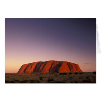 Cartes L'Australie, parc national d'Uluru Kata Tjuta,