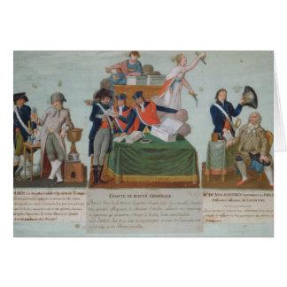 Cartes Lavoisier, Comite de Surete Generale