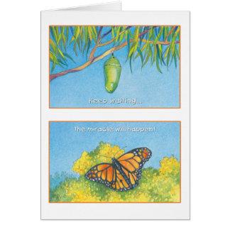 Cartes Le 27:14 de psaume de papillon de monarque