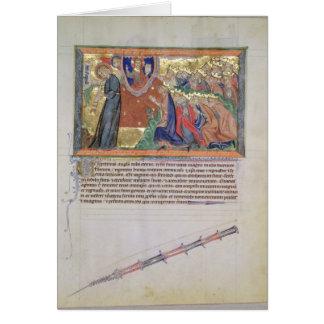 Cartes Le 7ème ange soufflant sa trompette