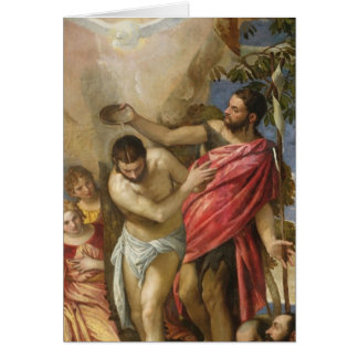 Cartes Le baptême du Christ