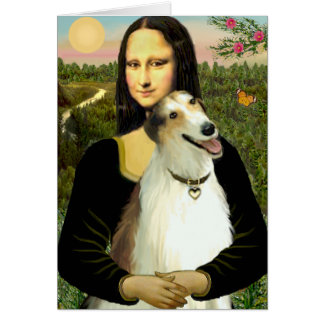 Cartes Le barzoï de Mona Lisa