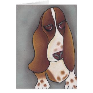 Cartes Le basset-hound d'Angela par Robyn Feeley