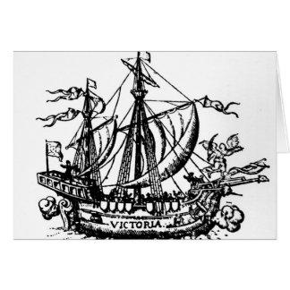 Cartes Le bateau 'Victoria de Ferdinand Magellan