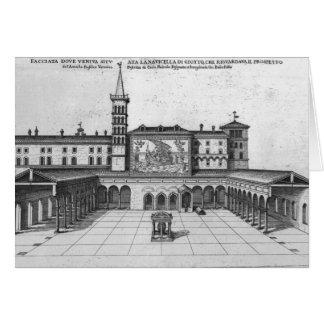 Cartes Le bungalow de bénédiction de vieux Vatican