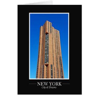 Cartes Le cadre de photographie d'horizon de New York