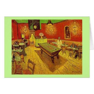Cartes Le café de nuit par Vincent van Gogh