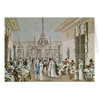 Cartes Le café Frascati en 1807