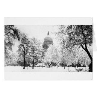 Cartes Le capitol de l'Idaho sous la neige