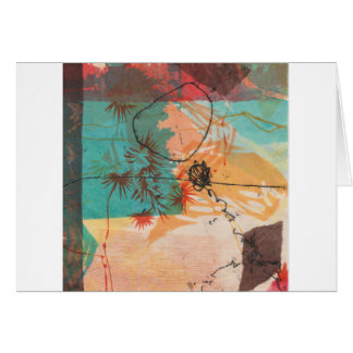 Cartes Le cercle abstrait forme Printmaking