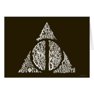 Cartes Le charme | de Harry Potter DE MORT SANCTIFIE la