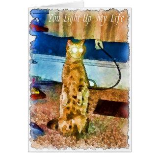 Cartes Le chat électrique