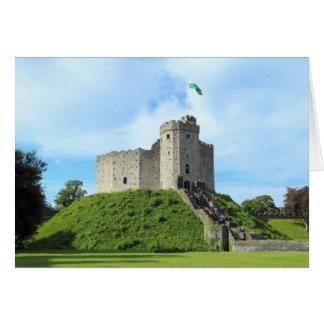 Cartes Le château de Cardiff gardent
