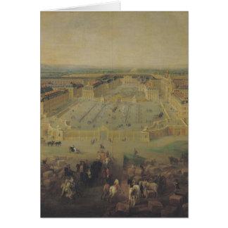 Cartes Le château De Versailles et l'endroit