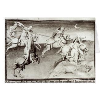 Cartes Le chef mongol, Hulagu, khan de l'Ilkhanate