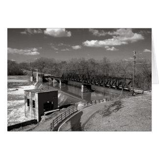 Cartes Le chemin de fer occidental de fourchette de Caney