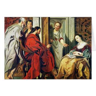 Cartes Le Christ à la Chambre de Martha et de Mary de