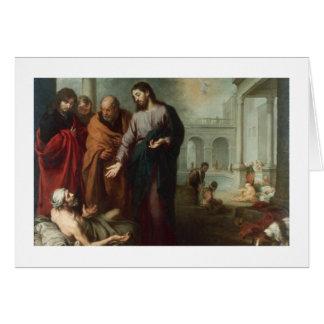 Cartes Le Christ à la piscine de Bethesda, 1667-70 (huile