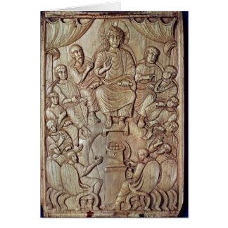 Cartes Le Christ avec les douze apôtres