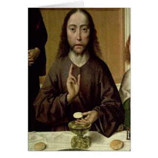 Cartes Le Christ bénissant 2