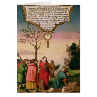Cartes Le Christ enseignant ses disciples