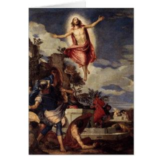 Cartes Le Christ le seigneur est risn' aujourd'hui,